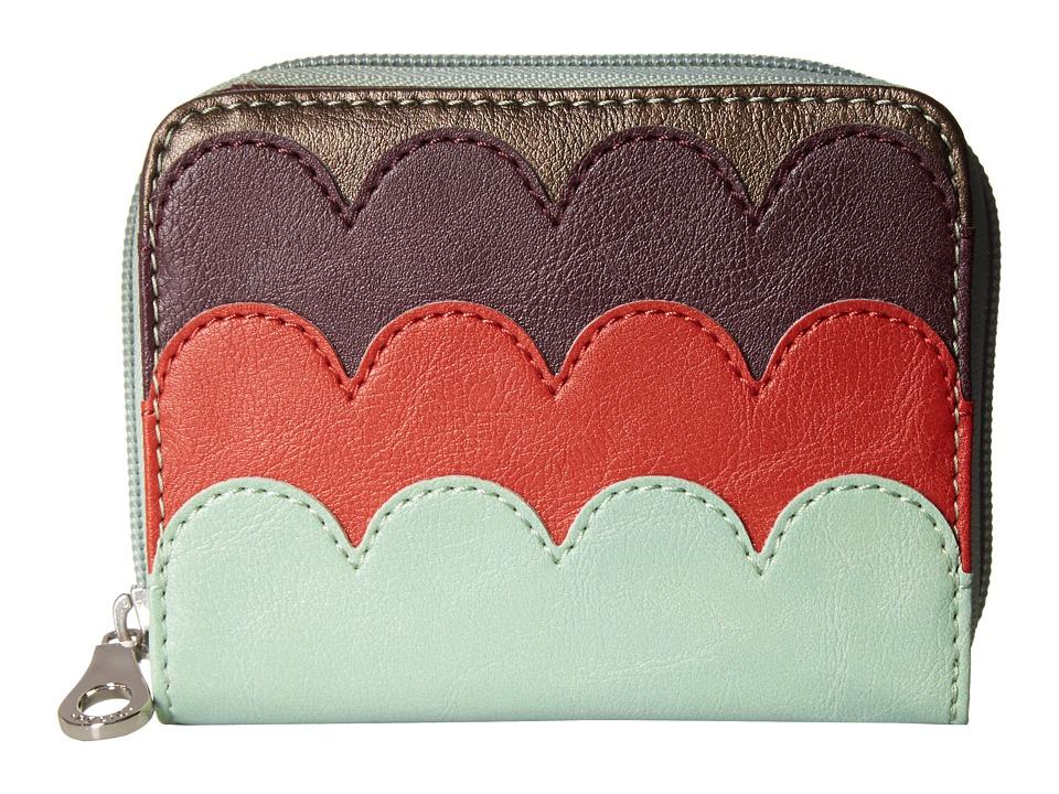 Relic - Takeaway Multifunction (Aqua Multi) Handbags
