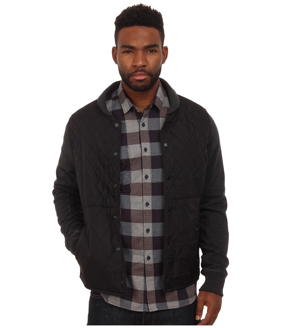 Howe - Shots Fired Button Up Knit (Grey Heather) Men