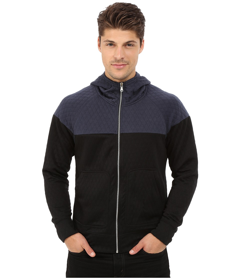 Howe - Sutton Zip-Up Hoodie (Wall Street) Men