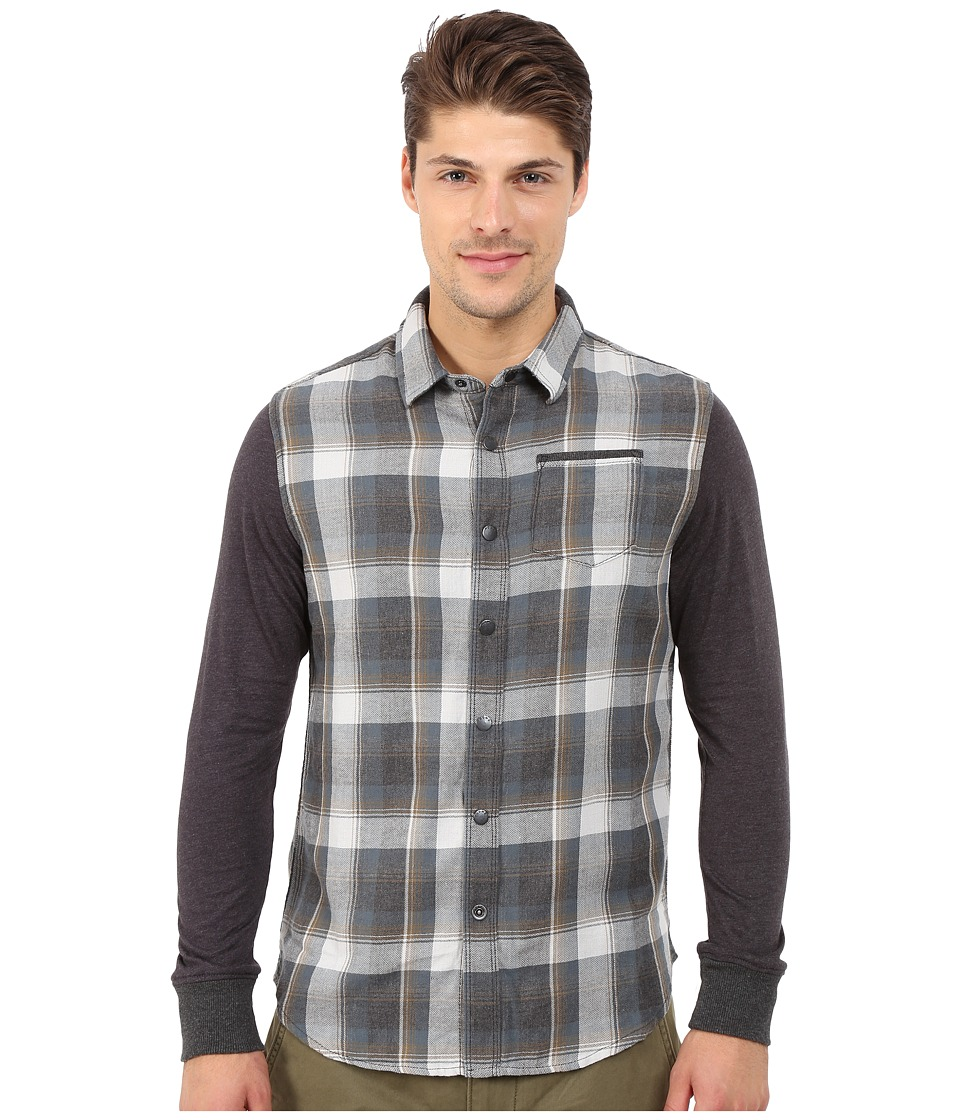 Howe - No Truth Woven Shirt (Dark Slate) Men