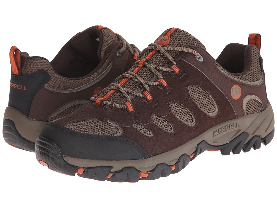 Merrell - Ridgepass (Espresso/Potters Clay) Men's Shoes
