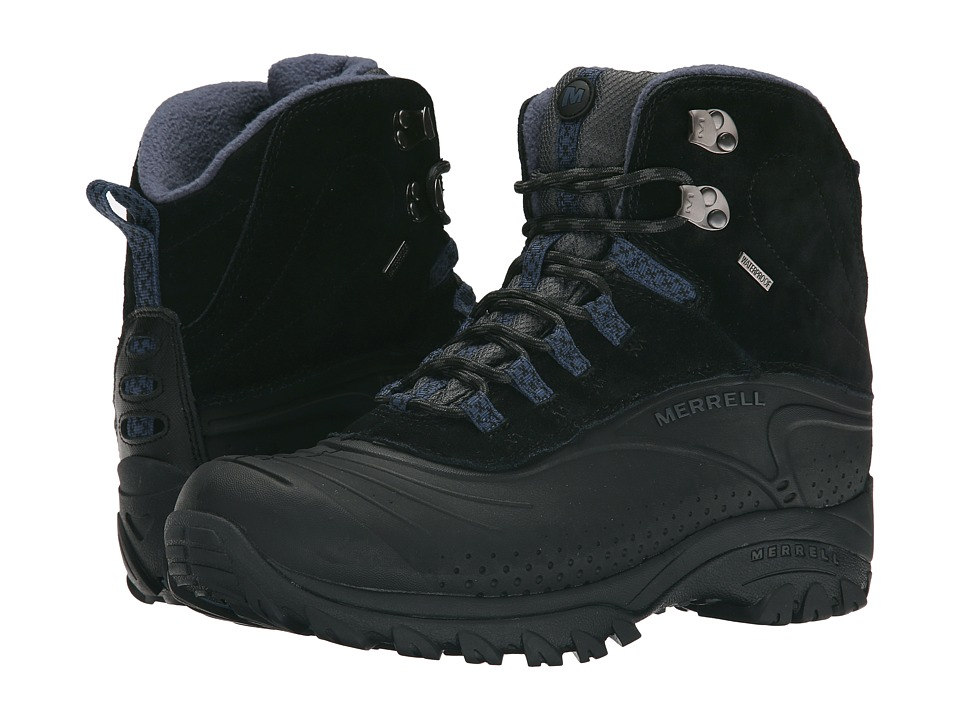 Merrell - Icerig Clip Shell (Black/Dark Denim) Men