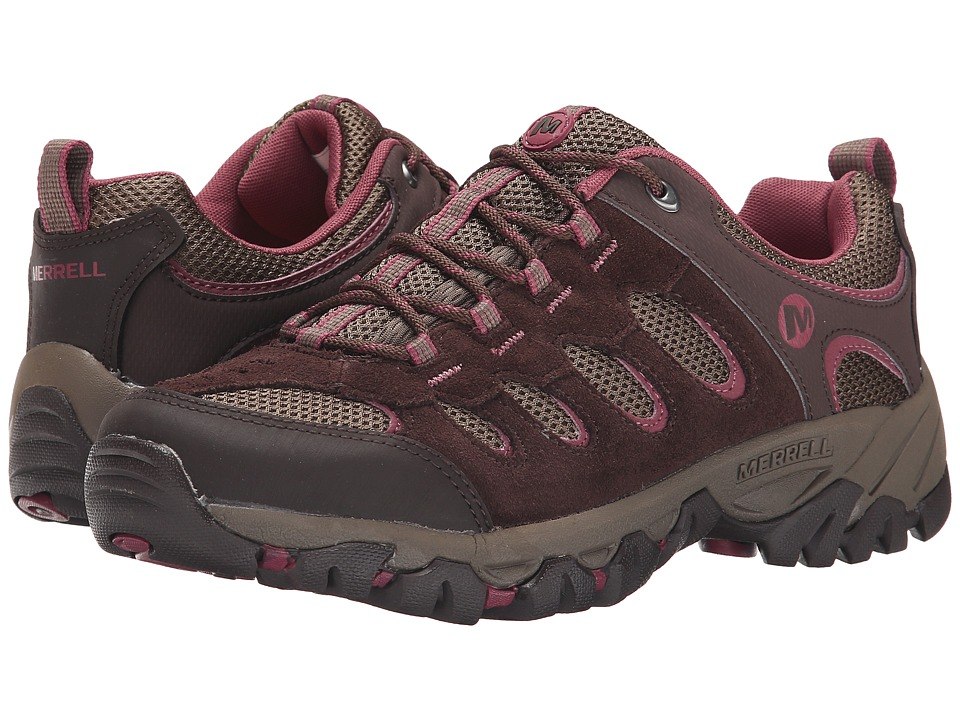 Merrell - Ridgepass (Espresso/Blushing) Women's Shoes