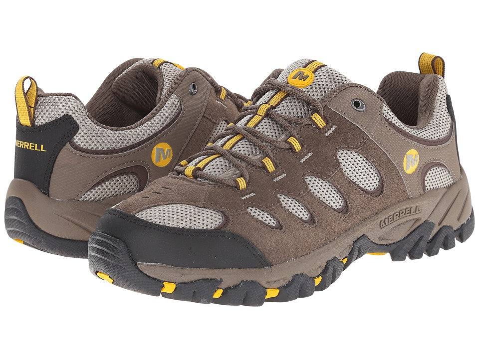 Merrell - Ridgepass (Boulder/Old Gold) Men's Shoes