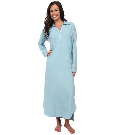Natori - Pima Paradise Lounger (French Blue) Women's Pajama