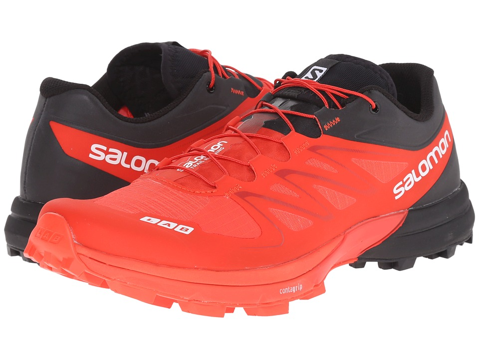 Salomon - S-Lab Sense 5 Ultra SG (Racing Red/Black/White) Athletic Shoes