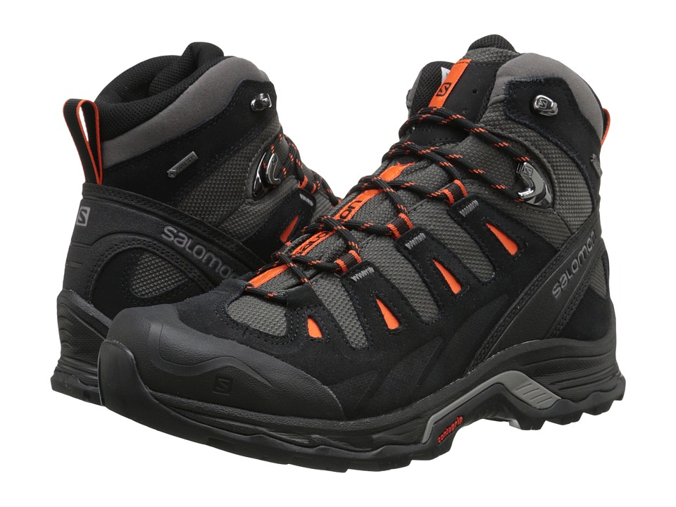 Salomon - Quest Prime GTX(r) (Autobahn/Black/Tomato Red) Men's Shoes