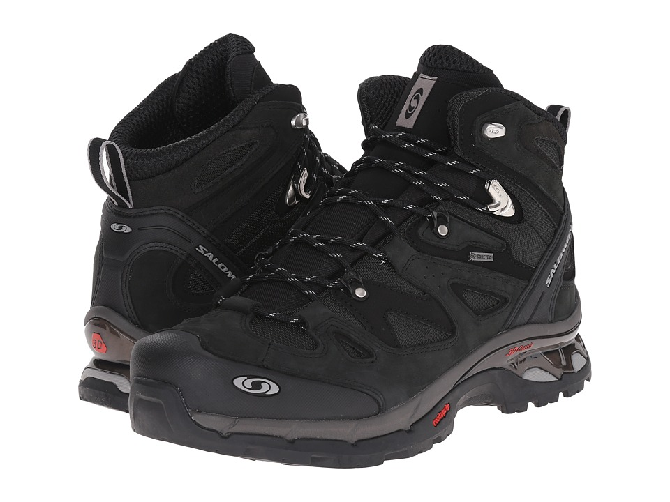 Salomon - Comet 3D GTX (Asphalt/Black/Pewter) Men's Hiking Boots