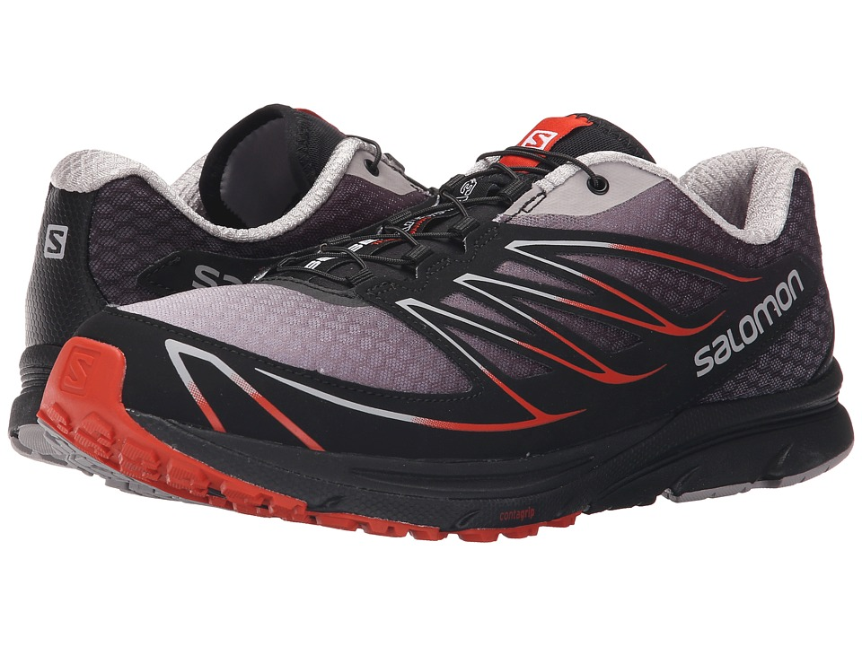 Salomon - Sense Mantra 3 (Aluminium/Black/Solar Orange) Men's Shoes