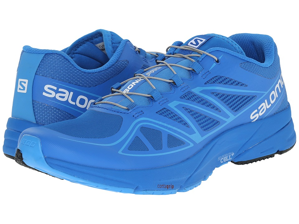 Salomon - Sonic Pro (Union Blue/Union Blue/Process Blue) Men's Shoes