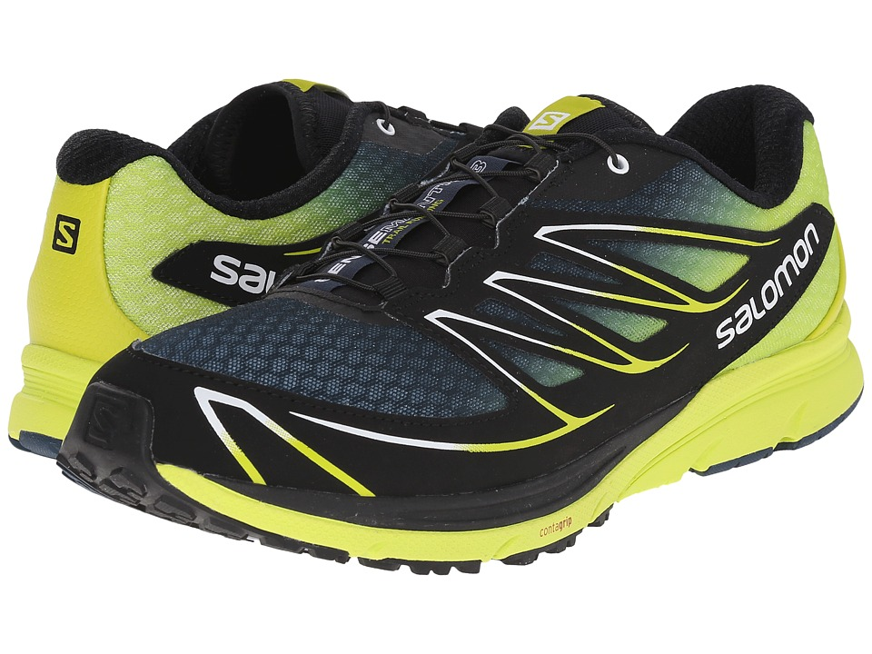Salomon - Sense Mantra 3 (Slateblue/Gecko Green/Black) Men's Shoes
