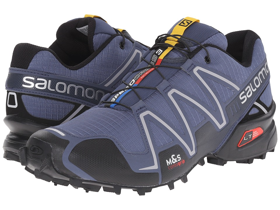 Salomon - Speedcross 3 (Slateblue/Black/Deep Blue) Men's Running Shoes