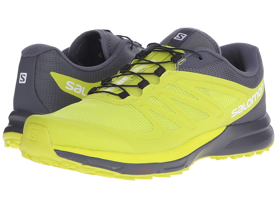 Salomon - Sense Pro 2 (Gecko Green/Gecko Green/Dark Cloud) Men's Shoes