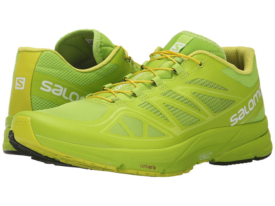 Salomon - Sonic Pro (Granny Green/Granny Green/Gecko Green) Men's Shoes