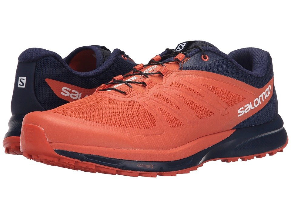 Salomon - Sense Pro 2 (Tomato Red/Black/Navy Wil) Men's Shoes