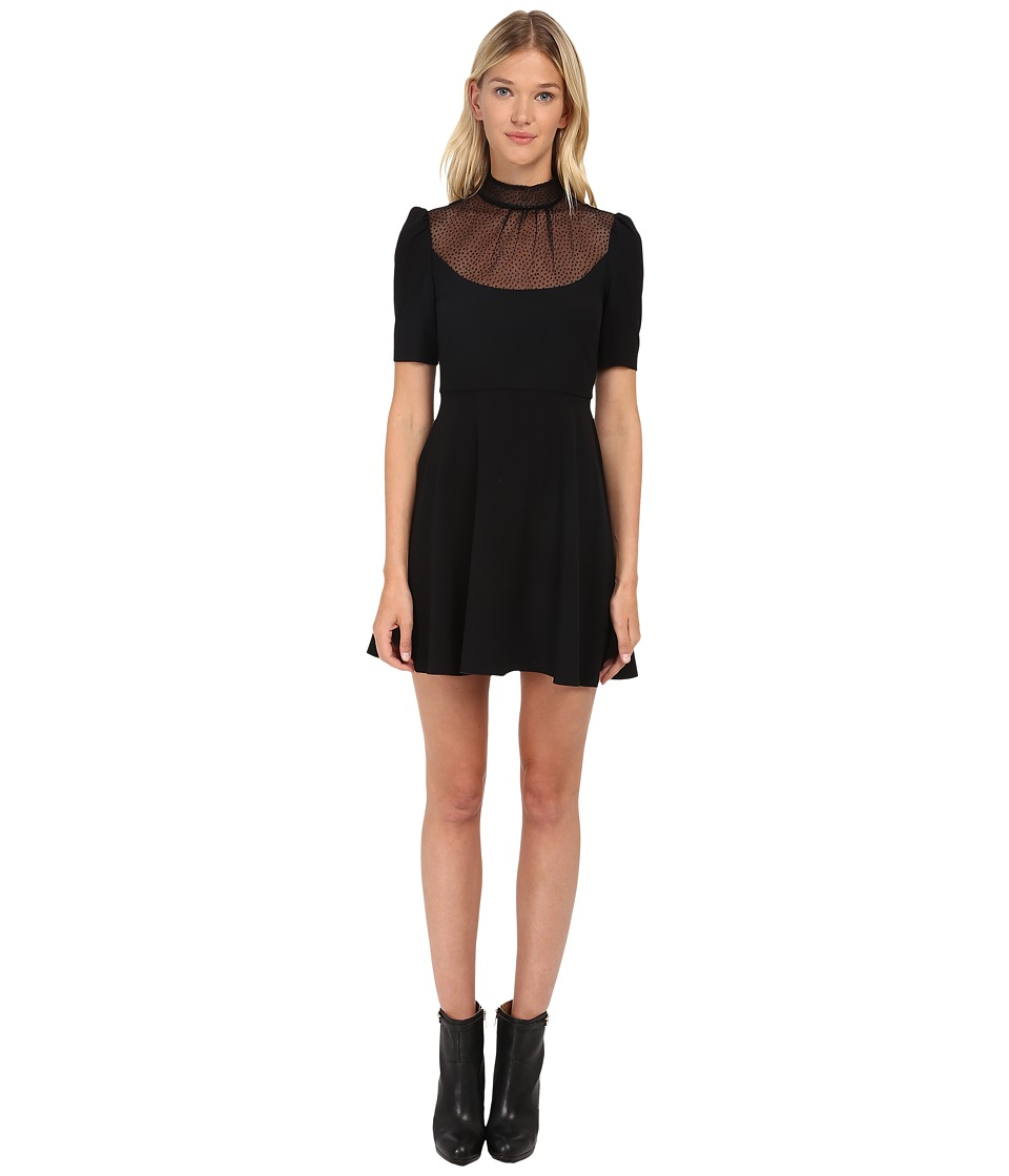 RED VALENTINO - Abito Dress (Nero) Women's Dress