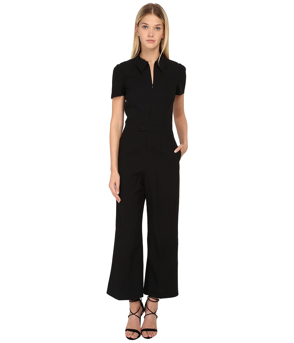 RED VALENTINO - Tuta Jumpsuit (Nero) Women's Jumpsuit & Rompers One Piece