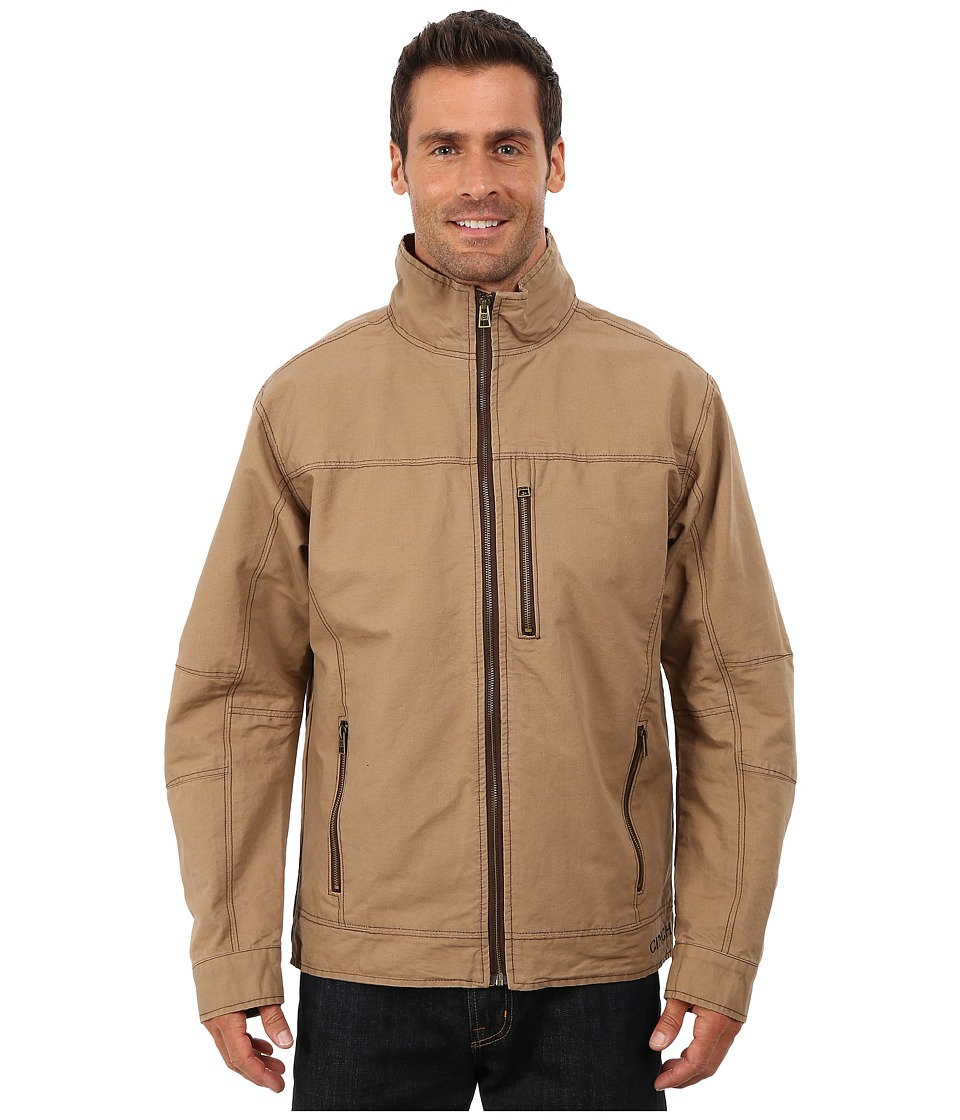 Cinch - Twill Canvas Jacket (Brown 1) Men's Coat