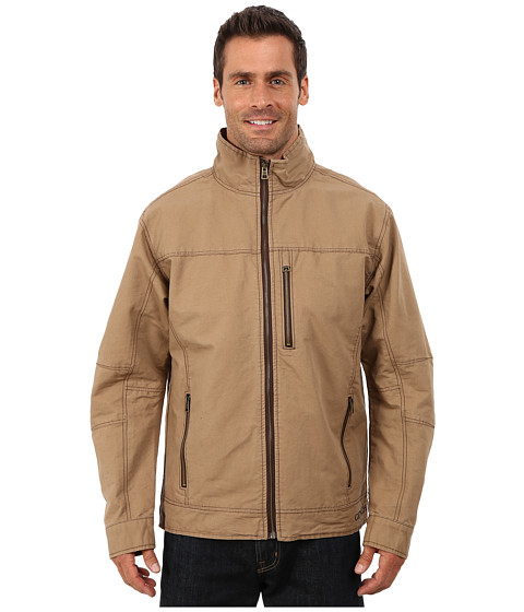 Cinch - Twill Canvas Jacket (Brown 1) Men