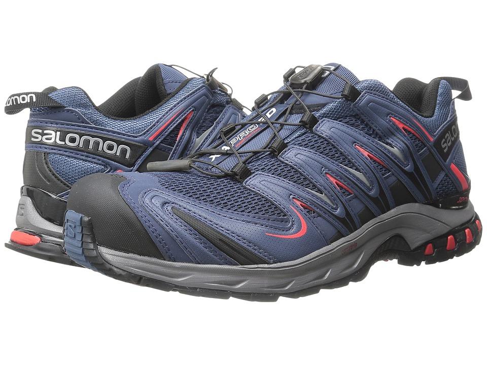 Salomon - XA Pro 3D (Slateblue/Detroit/Radiant Red) Men's Shoes