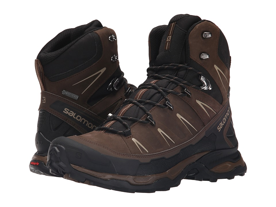 Salomon - X Ultra Trek GTX(r) (Absolute Brown-X/Black/Navajo) Men's Shoes