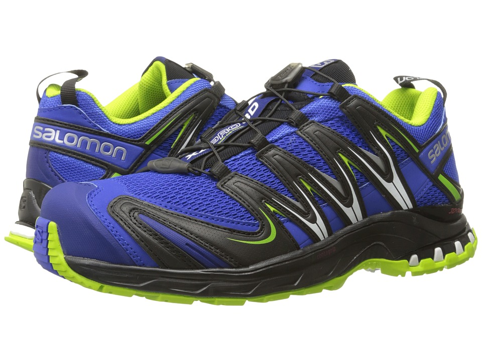 Salomon - XA Pro 3D (Cobalt/Process Blue/Granny Green) Men's Shoes