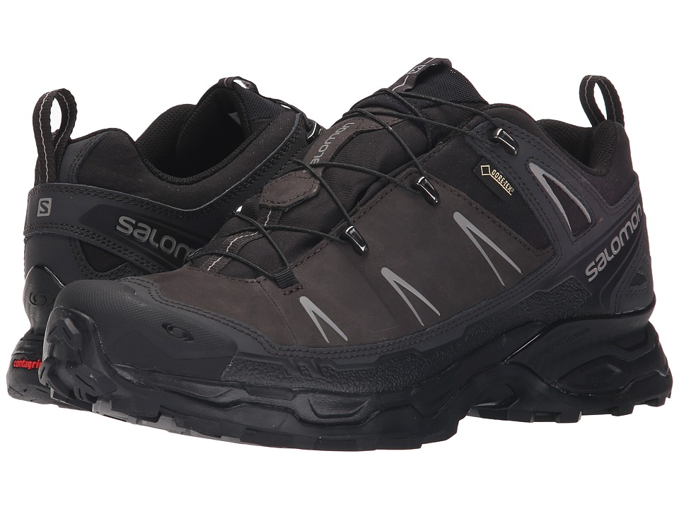 Salomon - X Ultra LTR GTX (Asphalt/Black/Pewter) Men's Shoes