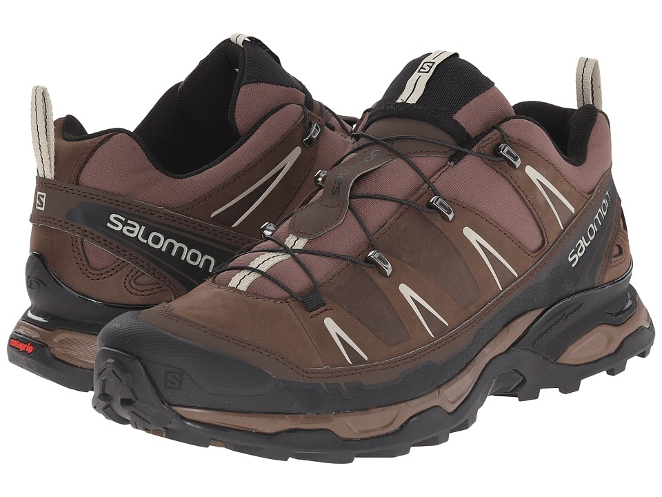 Salomon - X Ultra LTR (Burro/Absolute Brown-X/Beach) Men's Shoes