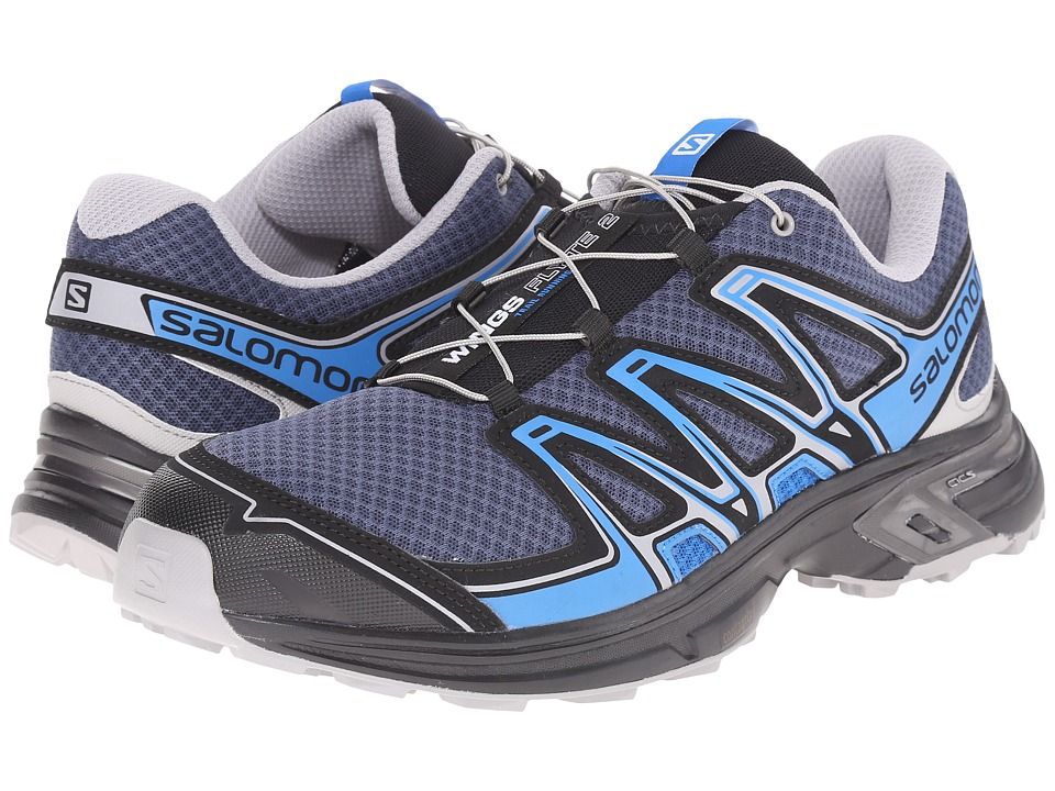 Salomon - Wings Flyte 2 (Slateblue/Aluminium/Union Blue) Men's Shoes