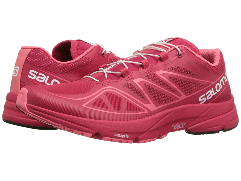 Salomon - Sonic Pro (Lotus Pink/Lotus Pink/Madder Pink) Women's Shoes