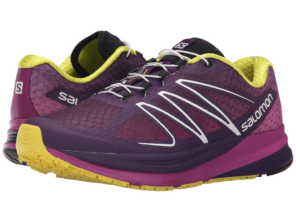 Salomon - Sense Propulse (Cosmic Purple/Azalee Pink/Corona Yellow) Women's Shoes