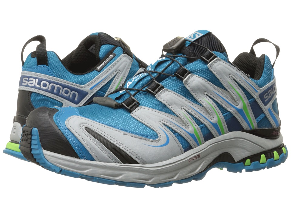 Salomon - XA PRO 3D CS WP (Fog Blue/Light Onix/Igloo Blue) Women's Shoes
