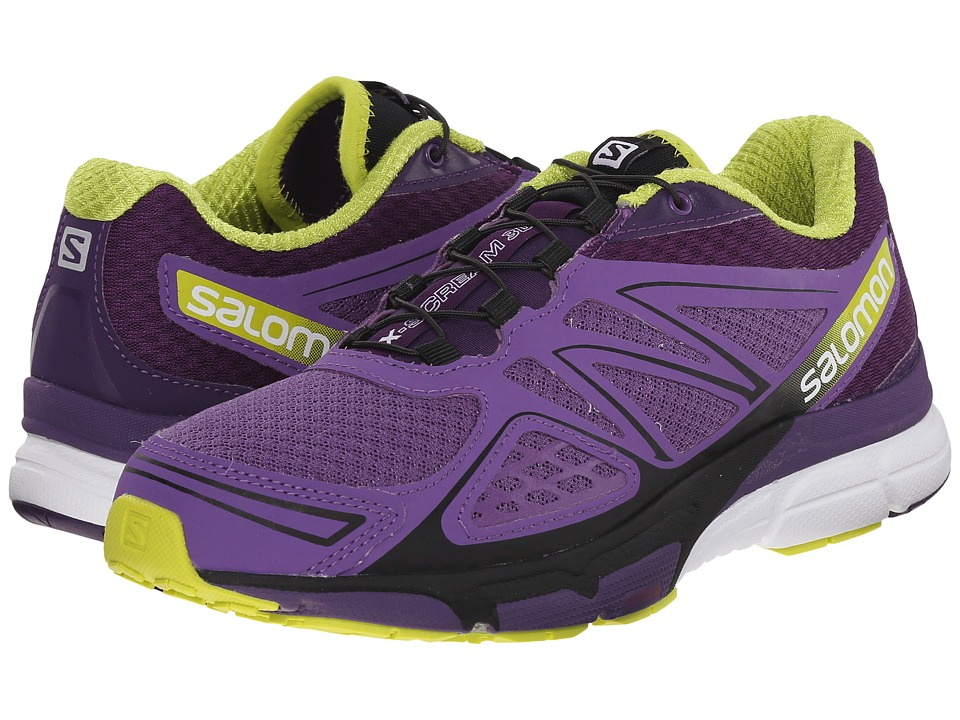 Salomon - X-Scream 3D (Rain Purple/Cosmic Purple/Gecko Green) Women's Shoes