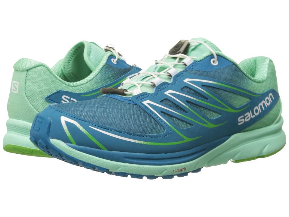 Salomon - Sense Mantra 3 (Fog Blue/Lucite Green/Tonic Green) Women's Shoes