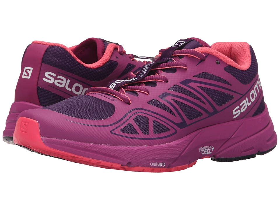Salomon - Sonic Aero (Cosmic Purple/Azalee Pink/Madder Pink) Women's Shoes
