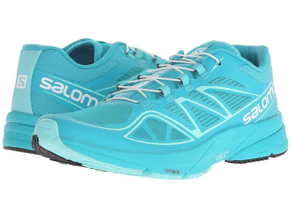 Salomon - Sonic Pro (Teal Blue F/Teal Blue F/Bubble Blue) Women's Shoes