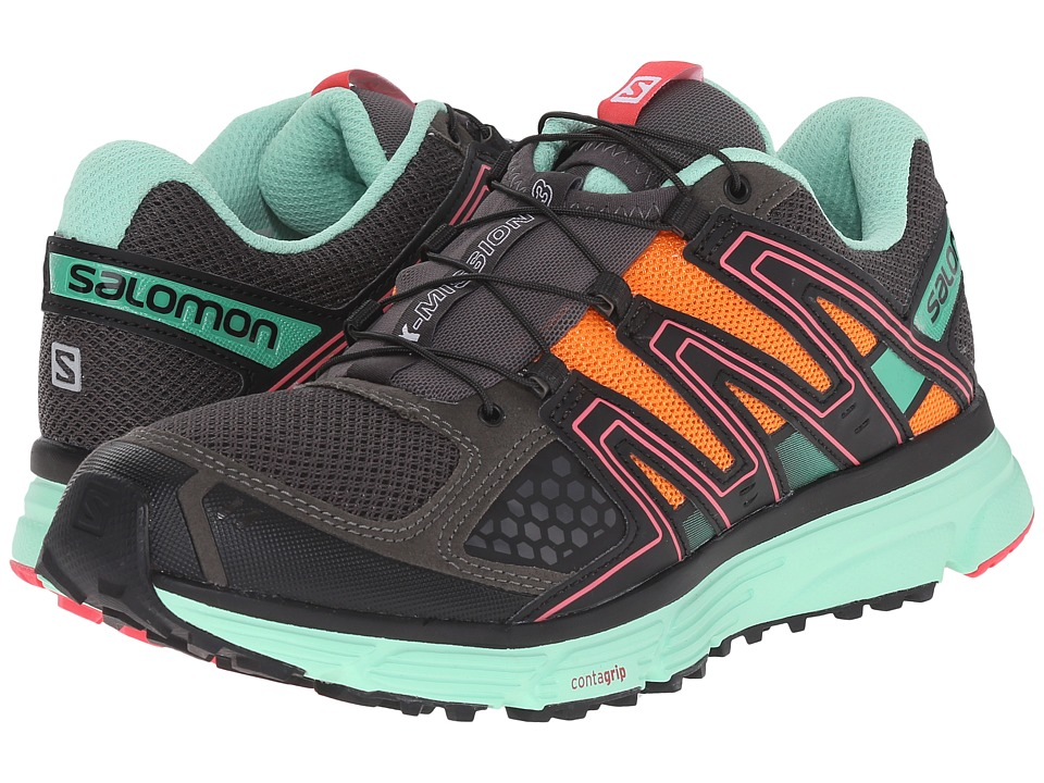 Salomon - X-Mission 3 (Autobahn/Lucite Green/Orange Feeling) Women's Shoes
