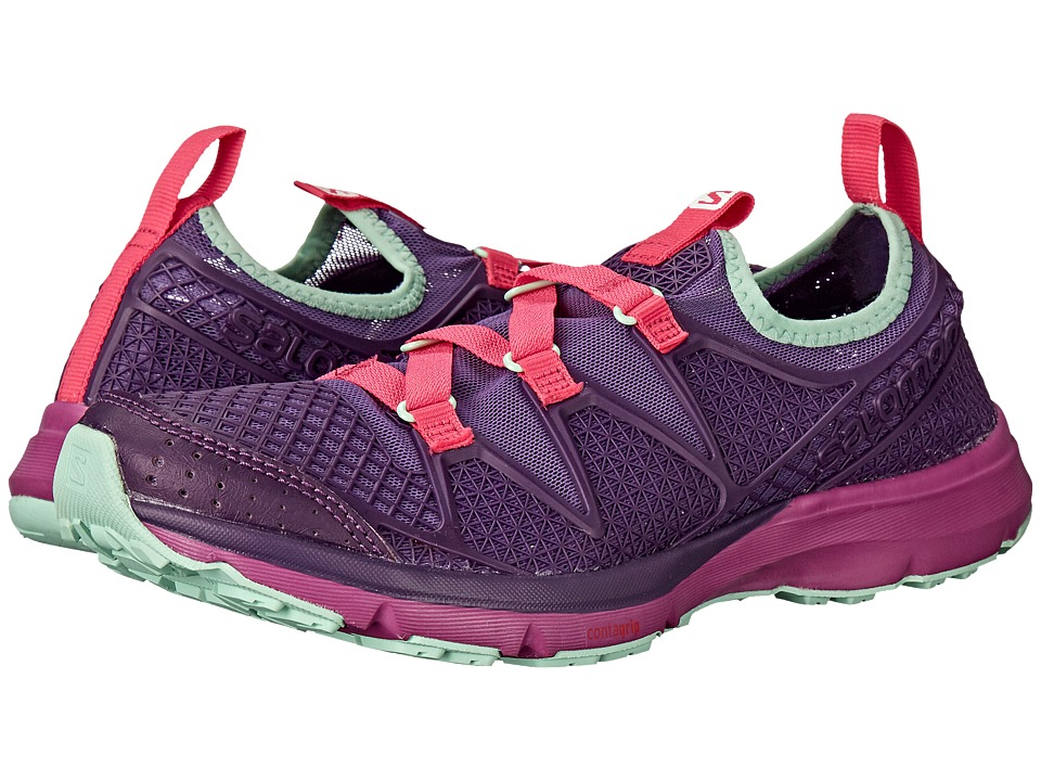 Salomon - Crossamphibian (Rain Purple/Cosmic Purple/Hot Pink) Women's Shoes