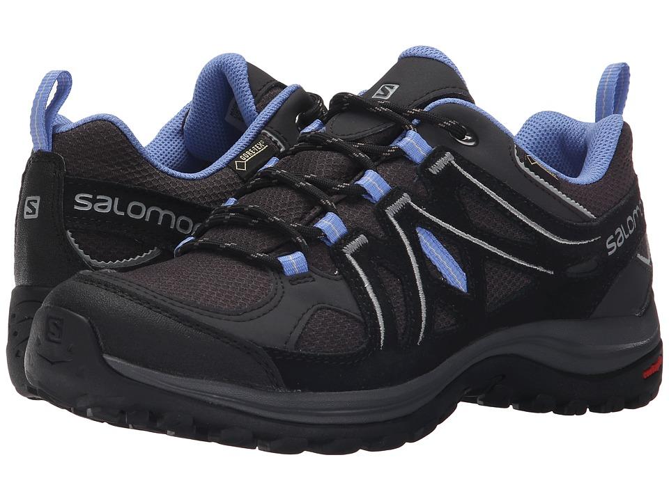 Salomon - Ellipse 2 GTX(r) (Asphalt/Black/Petunia Blue) Women's Shoes