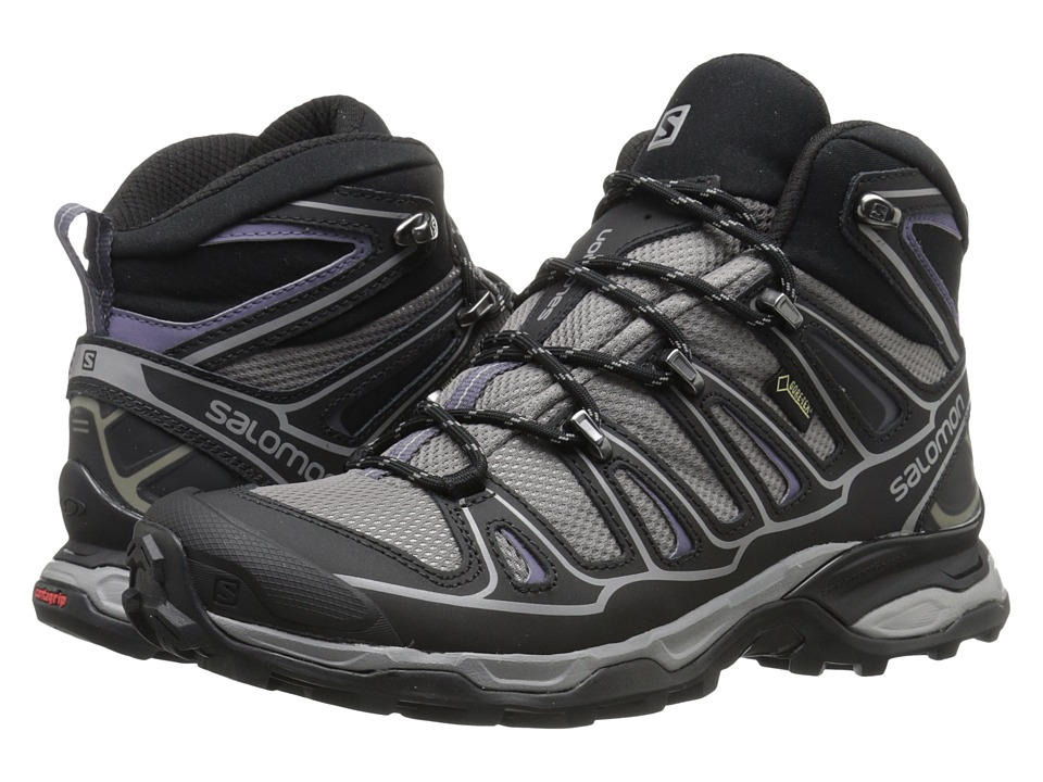 Salomon - X Ultra Mid 2 GTX (Detroit/Black/Artist Grey-X) Women's Shoes