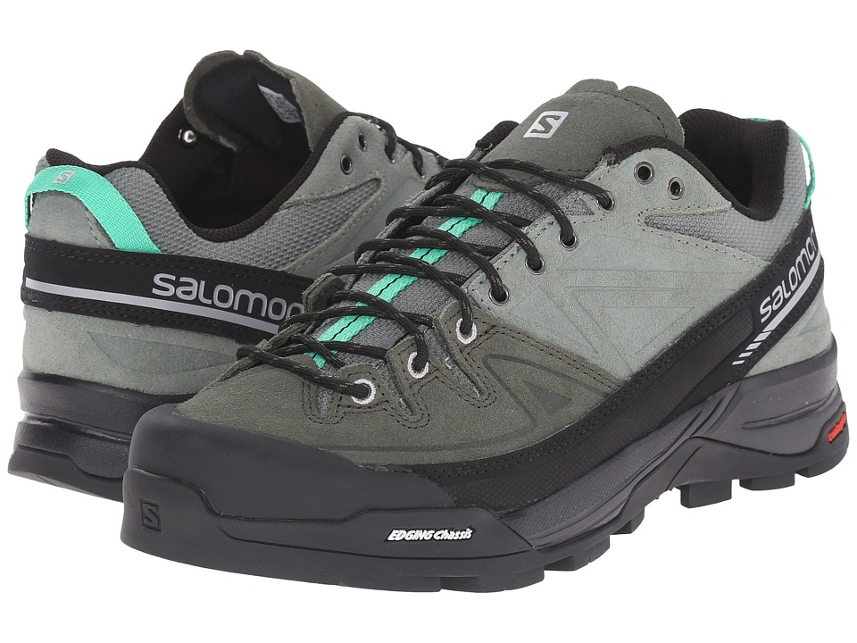 Salomon - X Alp LTR (Light TT/Night Forest/Jade Green) Women's Shoes
