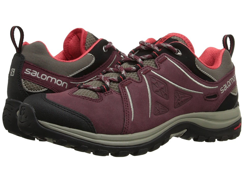 Salomon - Ellipse 2 LTR (Swamp/Pinot Noir/Papaya-B) Women's Shoes