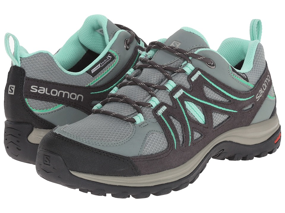 Salomon - Ellipse 2 CS WP (Light TT/Asphalt/Jade Green) Women's Shoes