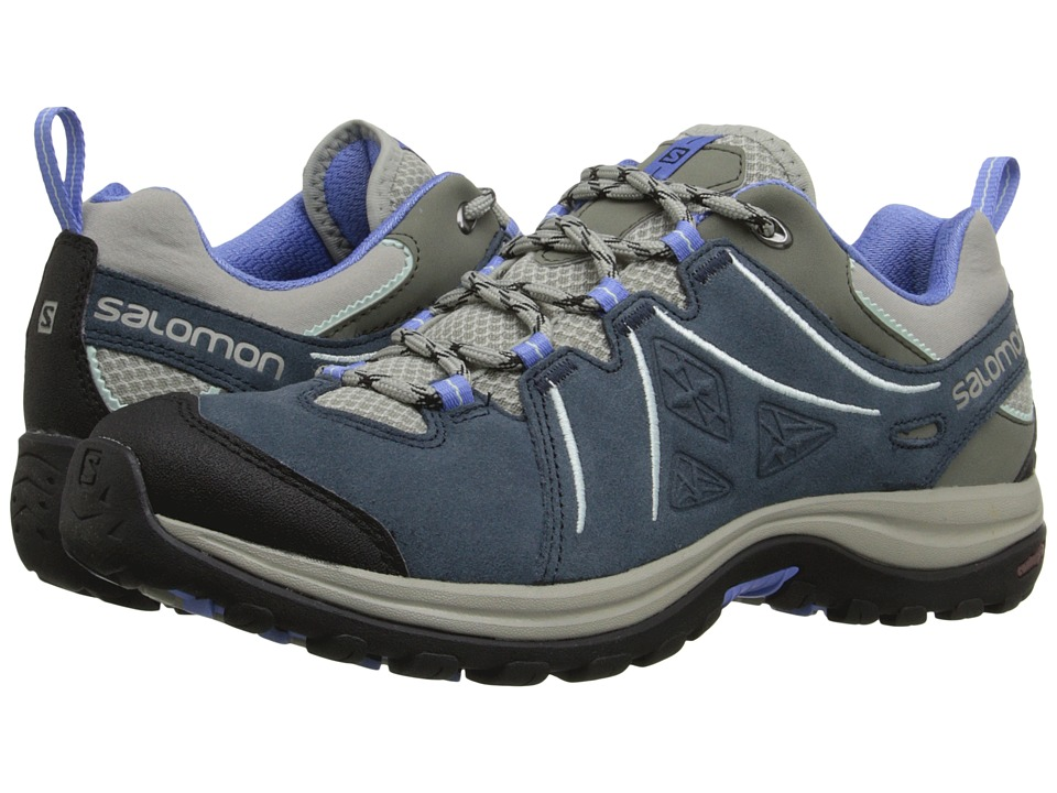 Salomon - Ellipse 2 LTR (Titanium/Deep Blue/Petunia Blue) Women's Shoes
