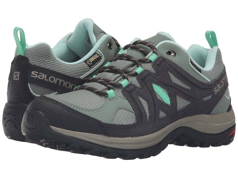 Salomon - Ellipse 2 GTX (Light TT/Asphalt/Jade Green) Women's Shoes