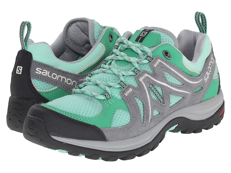Salomon - Ellipse 2 Aero (Lucite Green/Pearl Grey/Light Grey) Women's Shoes
