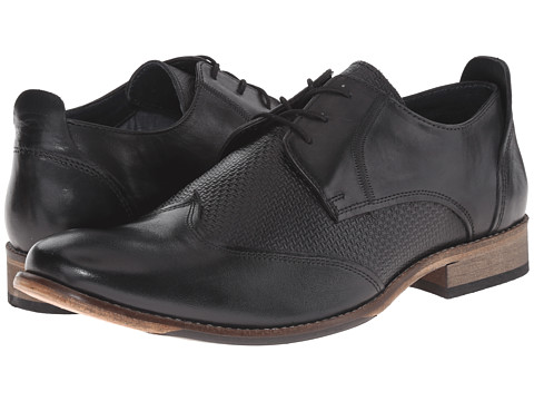 Lotus - Kade (Black Leather) Men's Shoes
