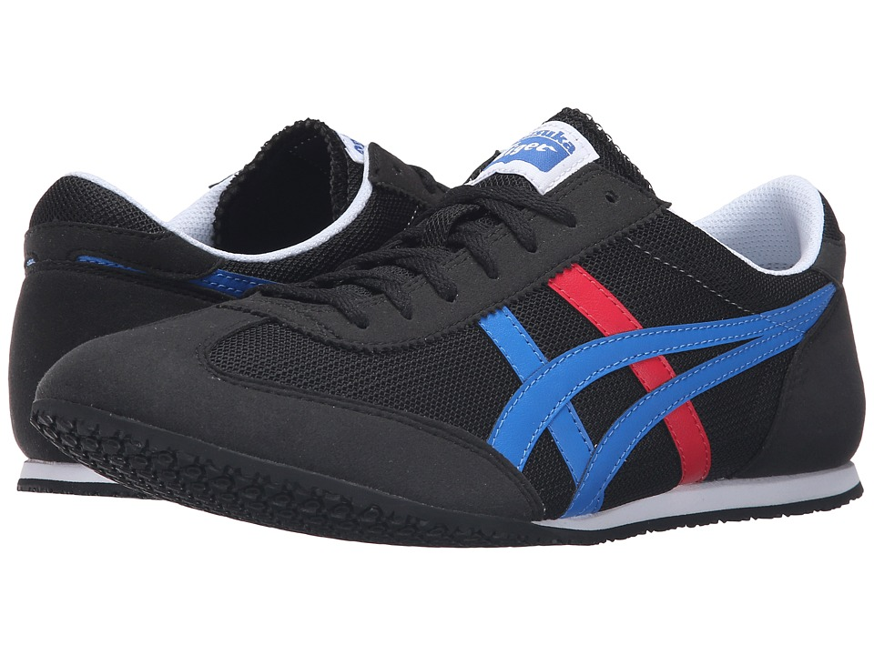 Onitsuka Tiger by Asics - Machu Racer (Black/Classic Blue) Shoes