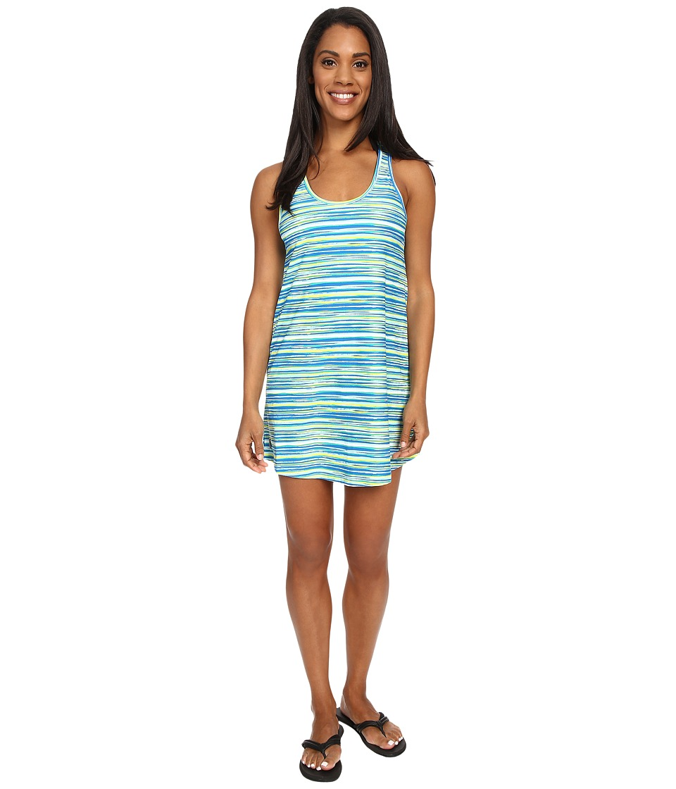 Lole - Buena 2 Tunic Cover-Up (Aruba Blue Stripe) Women's Swimwear