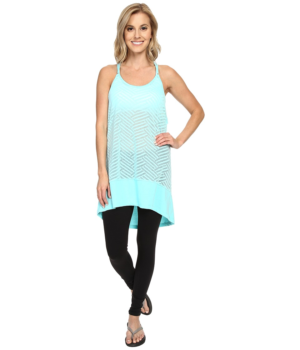 Lole - Samba Tunic (Aruba Blue Claws) Women's Sleeveless